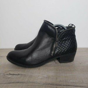 Lucky Brand Boots Brenon Diamond Leather Quilted